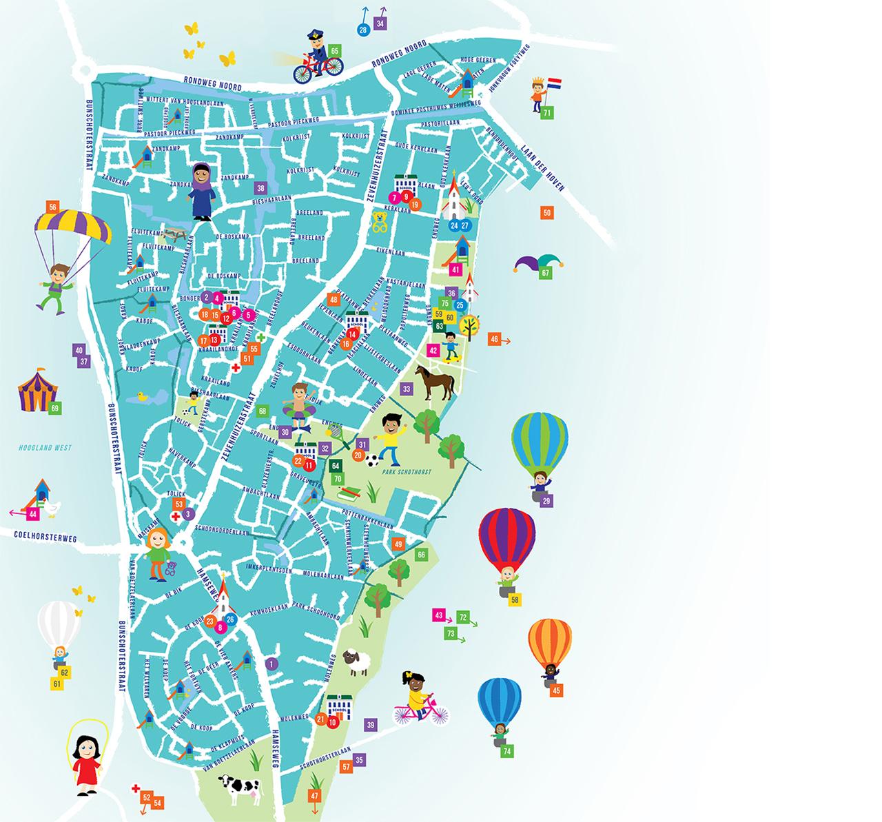 WIJ-Kaart Hoogland