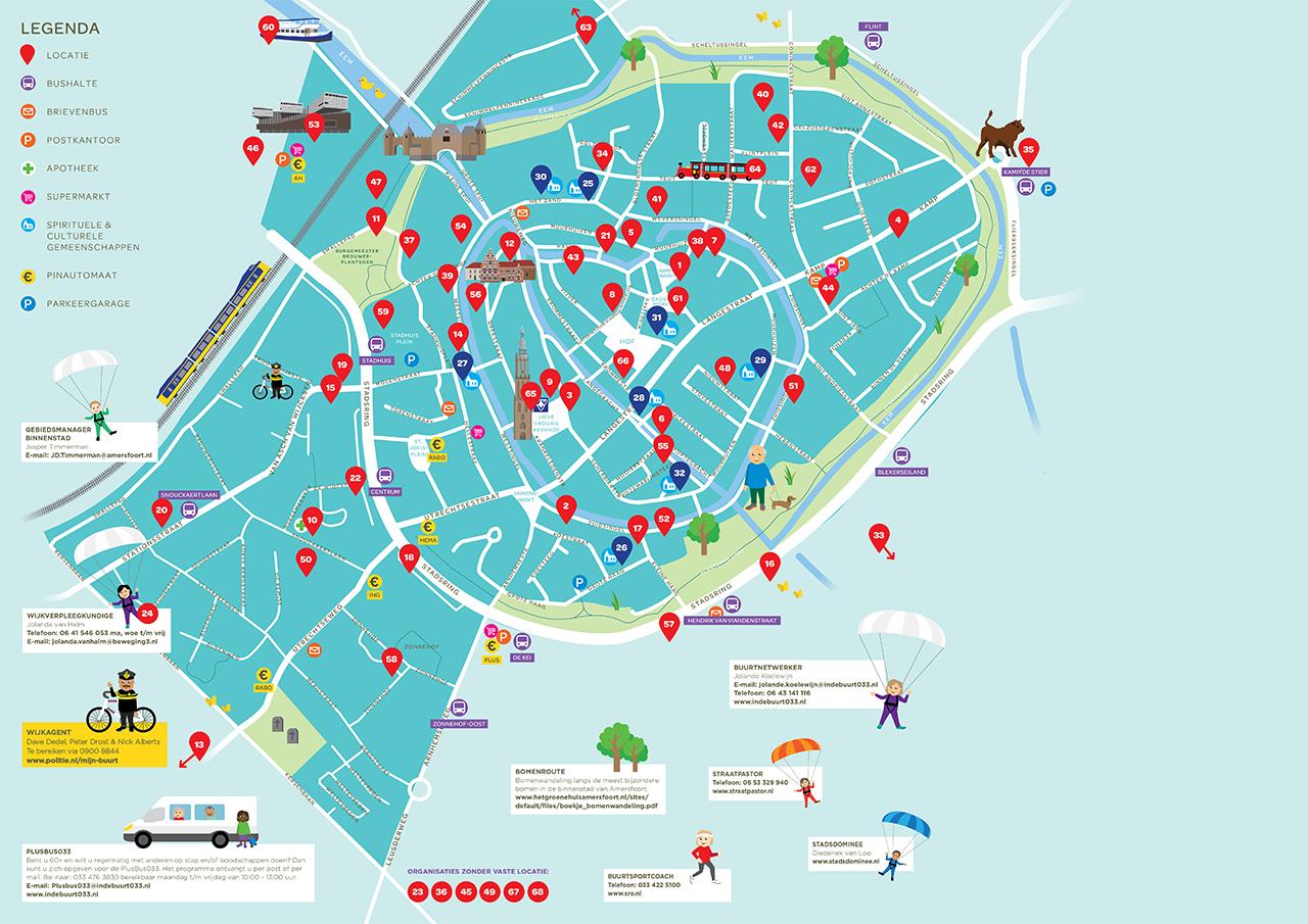 WIJ-Kaart Plus Binnenstad